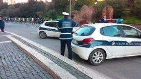 Policía de Roma metrajes