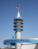 Policía de Santa Monica Fotos de archivo