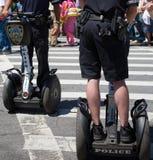 Policía de Segway Foto de archivo