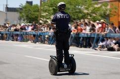 Policía de Segway Imagen de archivo