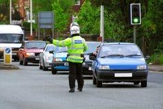Policía de tráfico Imagenes de archivo