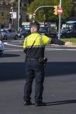 Policía de tráfico, Barcelona Fotografía de archivo
