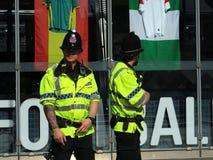 Policía de Urbis Manchester de servicio fotos de archivo libres de regalías