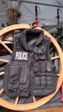 Policía del oeste en negro Foto de archivo