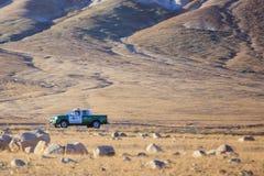 Policía en el desierto de Atacama del te Fotos de archivo libres de regalías
