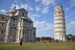 Policía en Pisa Imagenes de archivo