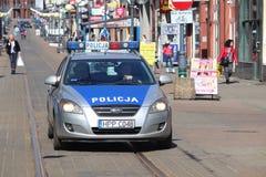 Policía en Polonia Fotos de archivo