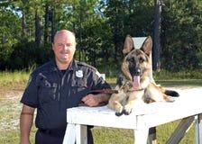 Policía K9 Fotografía de archivo libre de regalías