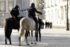 Policía montada Imagen de archivo