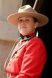 Policía montada canadiense real Imágenes de archivo libres de regalías