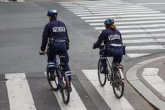 Policía parisiense Foto de archivo libre de regalías