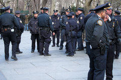 Policías Imágenes de archivo libres de regalías