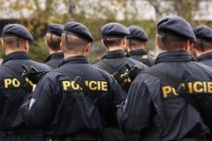 Policías Imagen de archivo