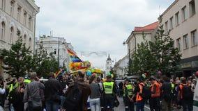Policías del desfile gay