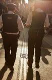 Policías ingleses Fotos de archivo libres de regalías