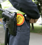 Policía Foto de archivo
