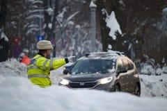 Policía de tráfico Foto de archivo libre de regalías