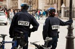 Policía francés Foto de archivo libre de regalías