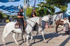 Policía montada Foto de archivo libre de regalías