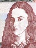 Policarpa Salavarrieta portrait Stock Image