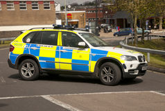 Police 4x4 Royalty Free Stock Images