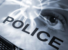 Police abstract Royalty Free Stock Photo