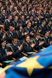 Police Academy graduates Stock Images