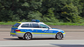 Police allemande Images libres de droits