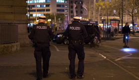 Police allemande Photographie stock