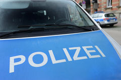 Police allemande Image stock