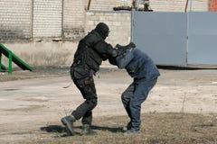 Police anti-terroriste de subdivision photos libres de droits