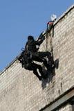 Police anti-terroriste de subdivision images libres de droits