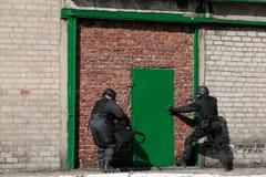 Police anti-terroriste de subdivision photo stock
