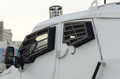 Police armoured vehicle Royalty Free Stock Photography
