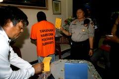 Police arrested drug dealer Royalty Free Stock Image