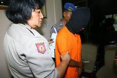 Police arrested drug dealer stock photo