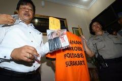 Police arrested drug dealer royalty free stock photography