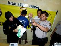 Police arrested drug dealer Stock Image