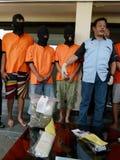 Police arrested drug dealer Stock Images