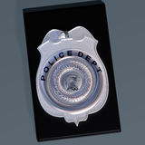 Police badge Stock Photography