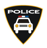 Police badge Royalty Free Stock Photo
