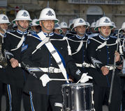 Police Band Parade Stock Images