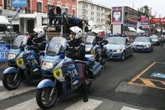 Police in bari stock photo