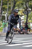 Police Bicycle Patrol Royalty Free Stock Photos