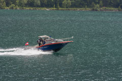 Police Boat Stock Images
