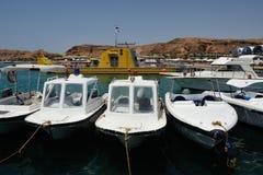 Police boats Royalty Free Stock Photo