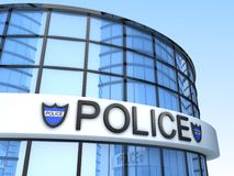 Police Building Royalty Free Stock Photography