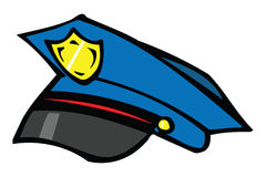 Police cap Stock Photography