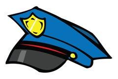 Police cap royalty free illustration