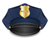 Police cap Stock Image